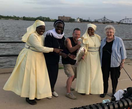 Fisherman's Luck with Nuns